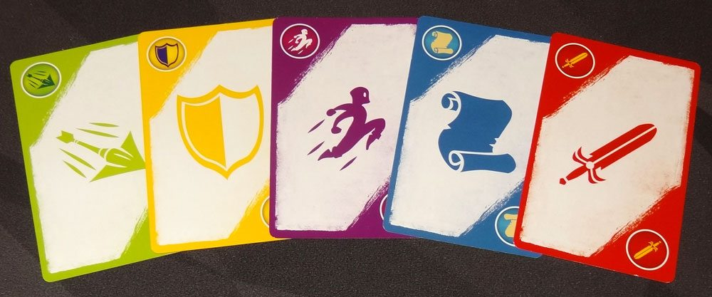 5-Minute Dungeon cards