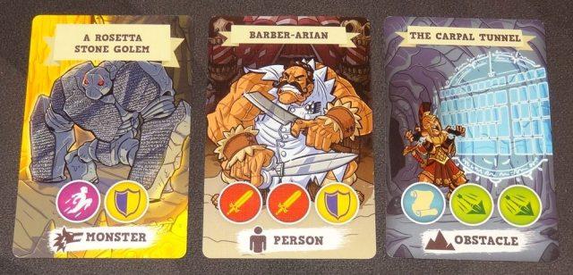 5-Minute Dungeon door cards