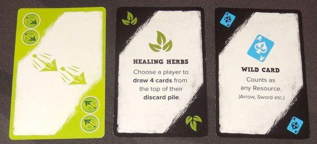 5-Minute Dungeon green hero cards