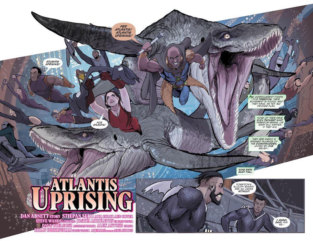 DC Comics Review: Aquaman #30: Rebellion