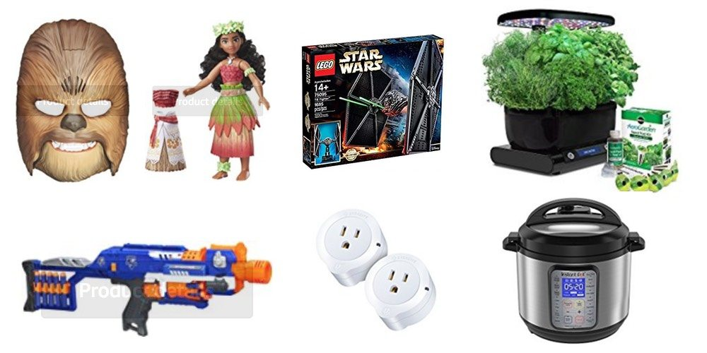 Geek Daily Deals Nov. 27, 2017: Cyber Monday Deals on Hasbro Toys, Nerf, LEGO, Smart Home, Kitchen Tech