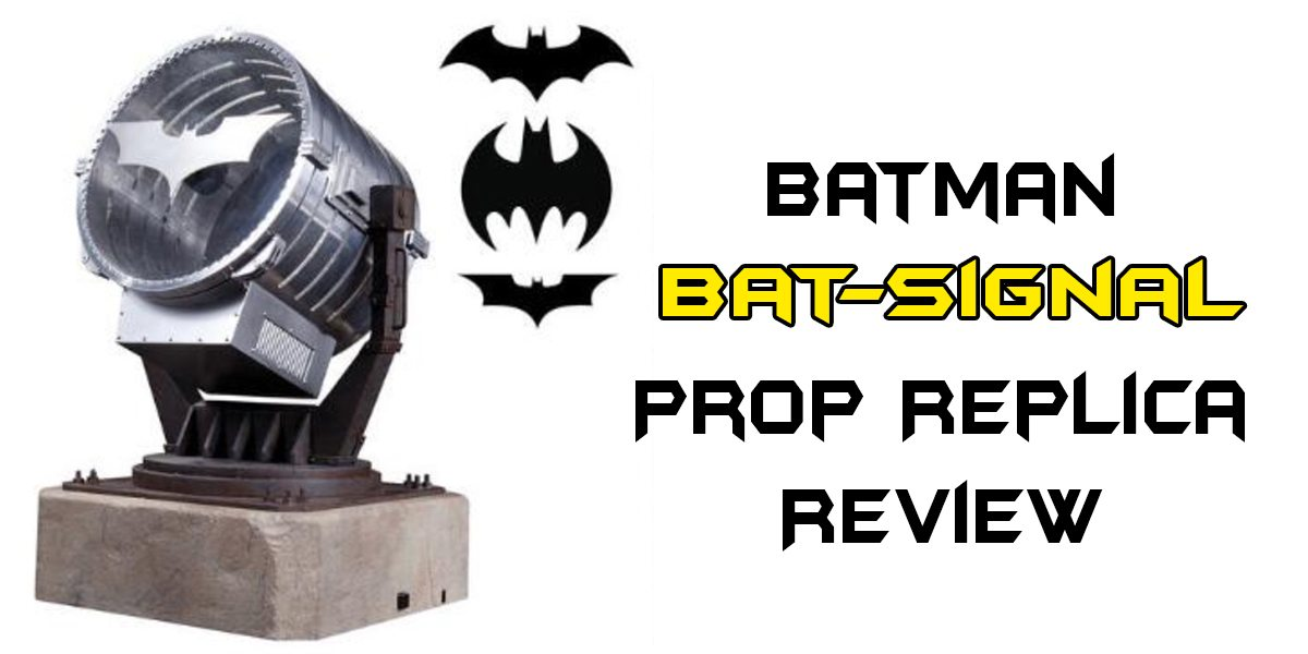 dc comics collectibles batsignal review geekmom