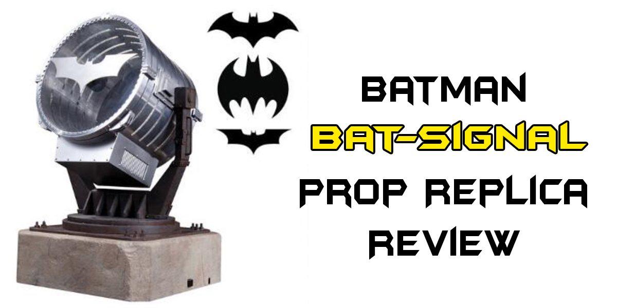 dc comics collectibles batsignal review geekmom