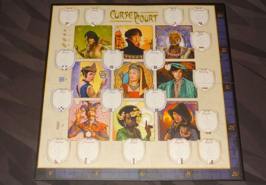 Cursed Court': Intrigue You Can Bet On - GeekDad