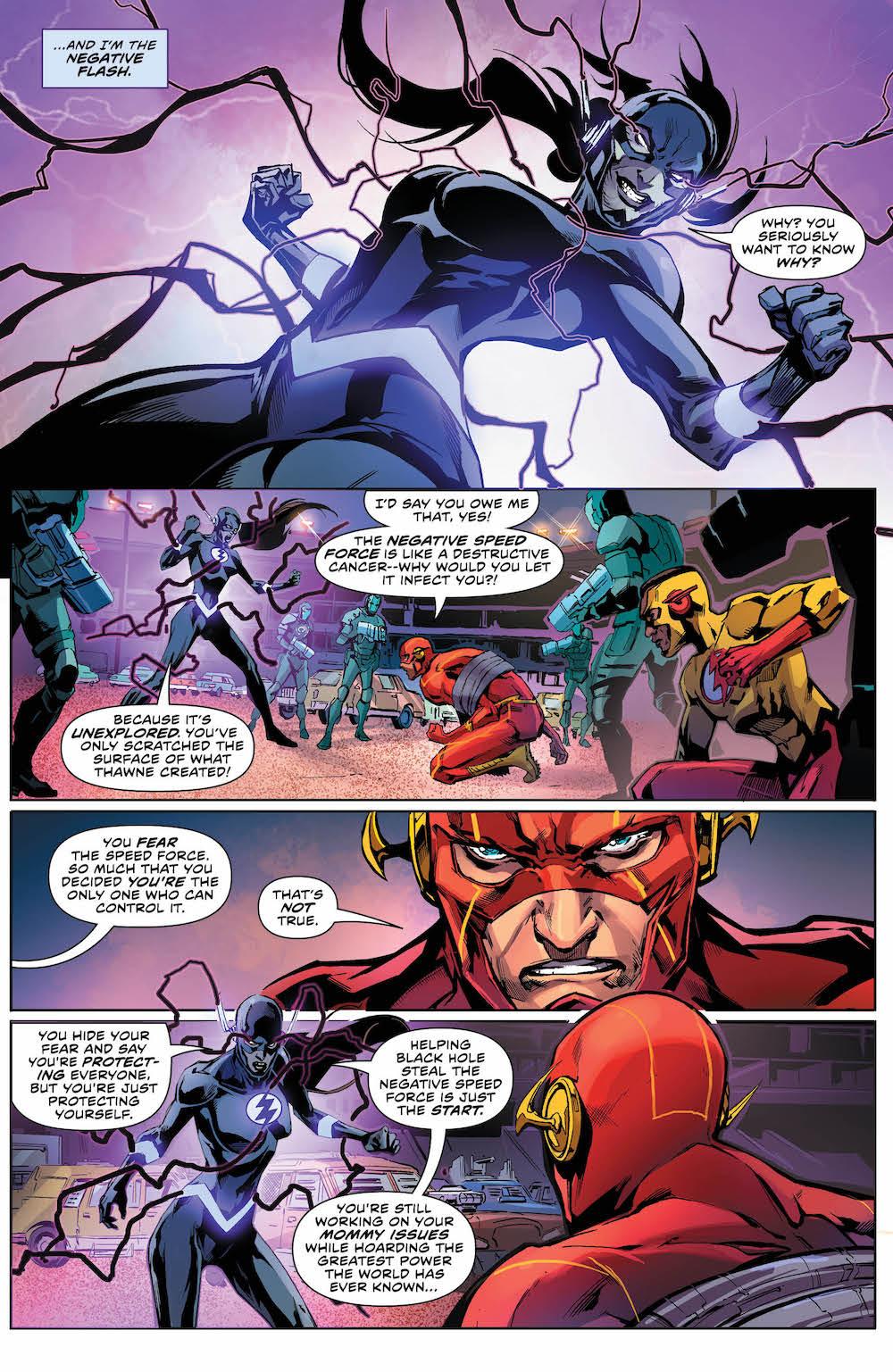 The Flash 35, 2017, Barry, Wally, Meena