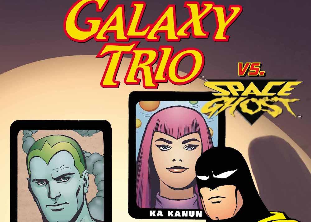 Space Ghost, Galaxy Trio, Future Quest Presents #4