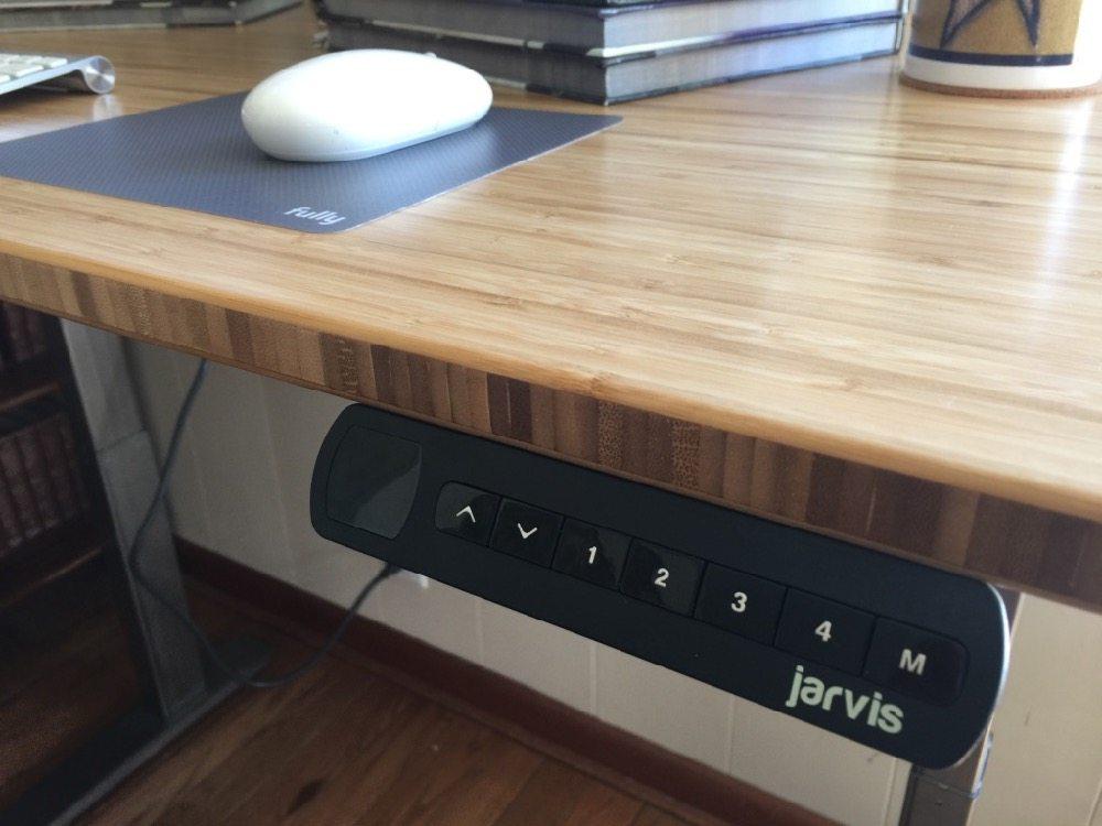 Jarvis Bamboo Adjustable Standing Desk Best Desk I Ve