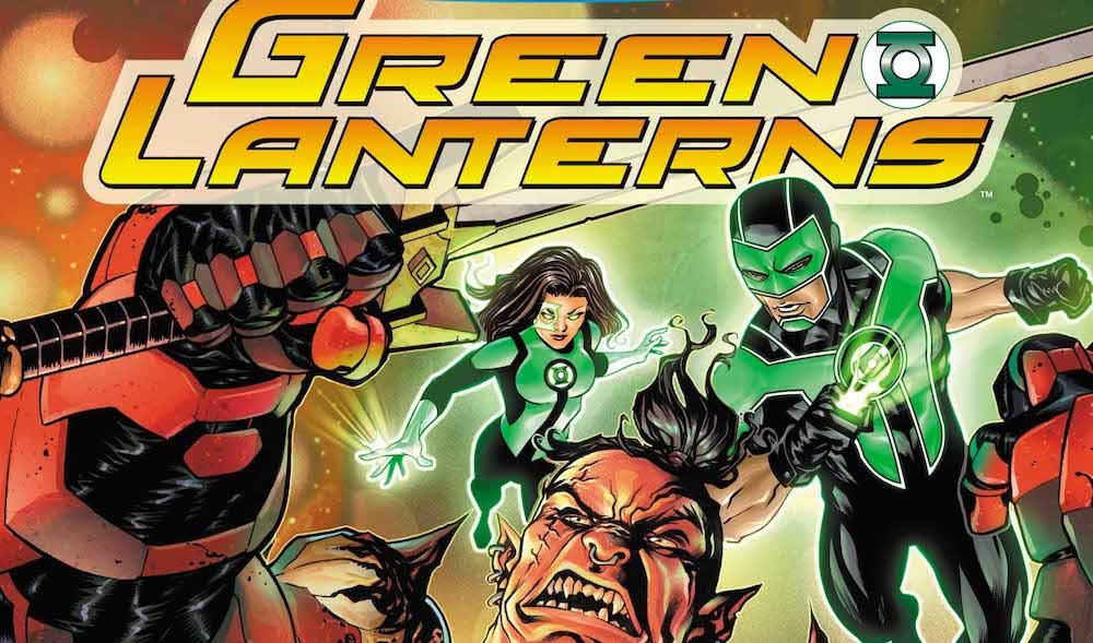 DC Comics Reviews: Green Lanterns #35: Jessica On the Job