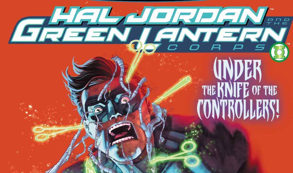 Review – Hal Jordan and the Green Lantern Corps #33: Controllers!!