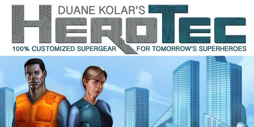 Kickstarter Tabletop Alert: 'HeroTec' Gears Up