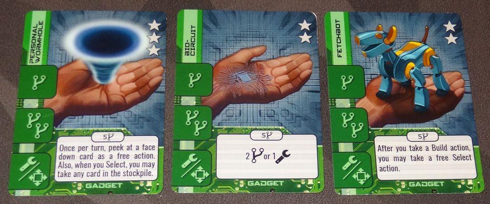 HeroTec Gadget cards