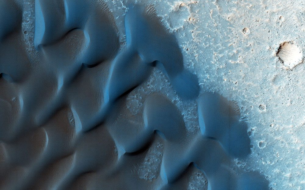 Mars dunes from The Planets