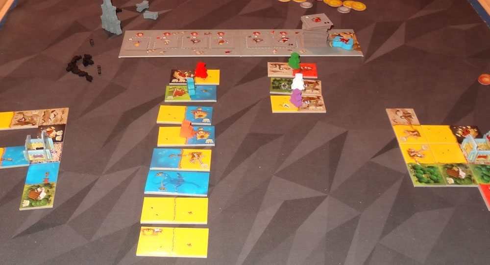 Queendomino 6-player game