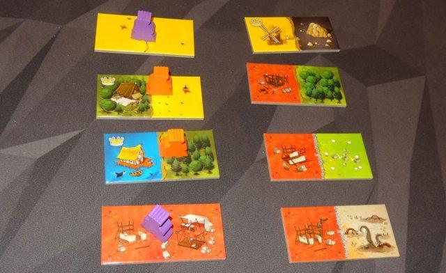 Queendomino 2-player game