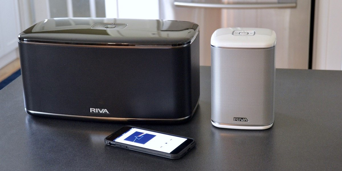 GeekDad Review: RIVA Festival and RIVA Arena Multi-Room Wireless Speakers