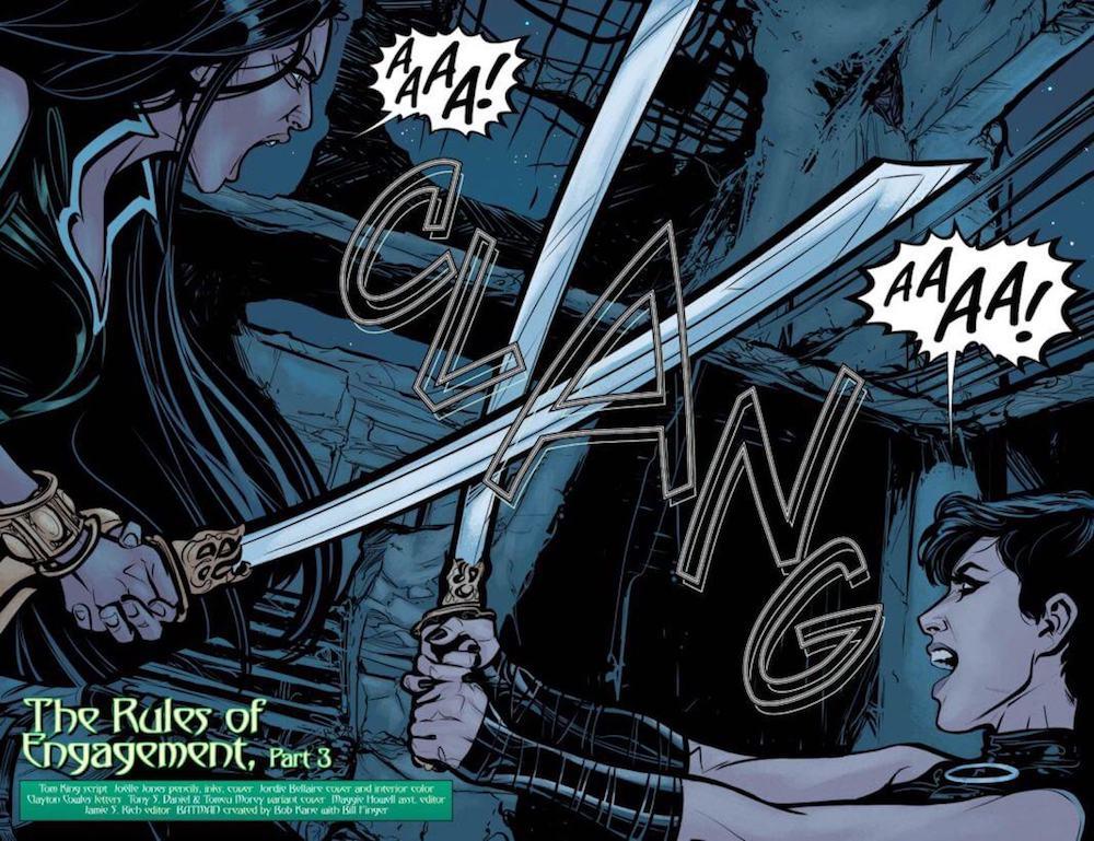 DC Comic Reviews: Batman #35: Happy Batman?