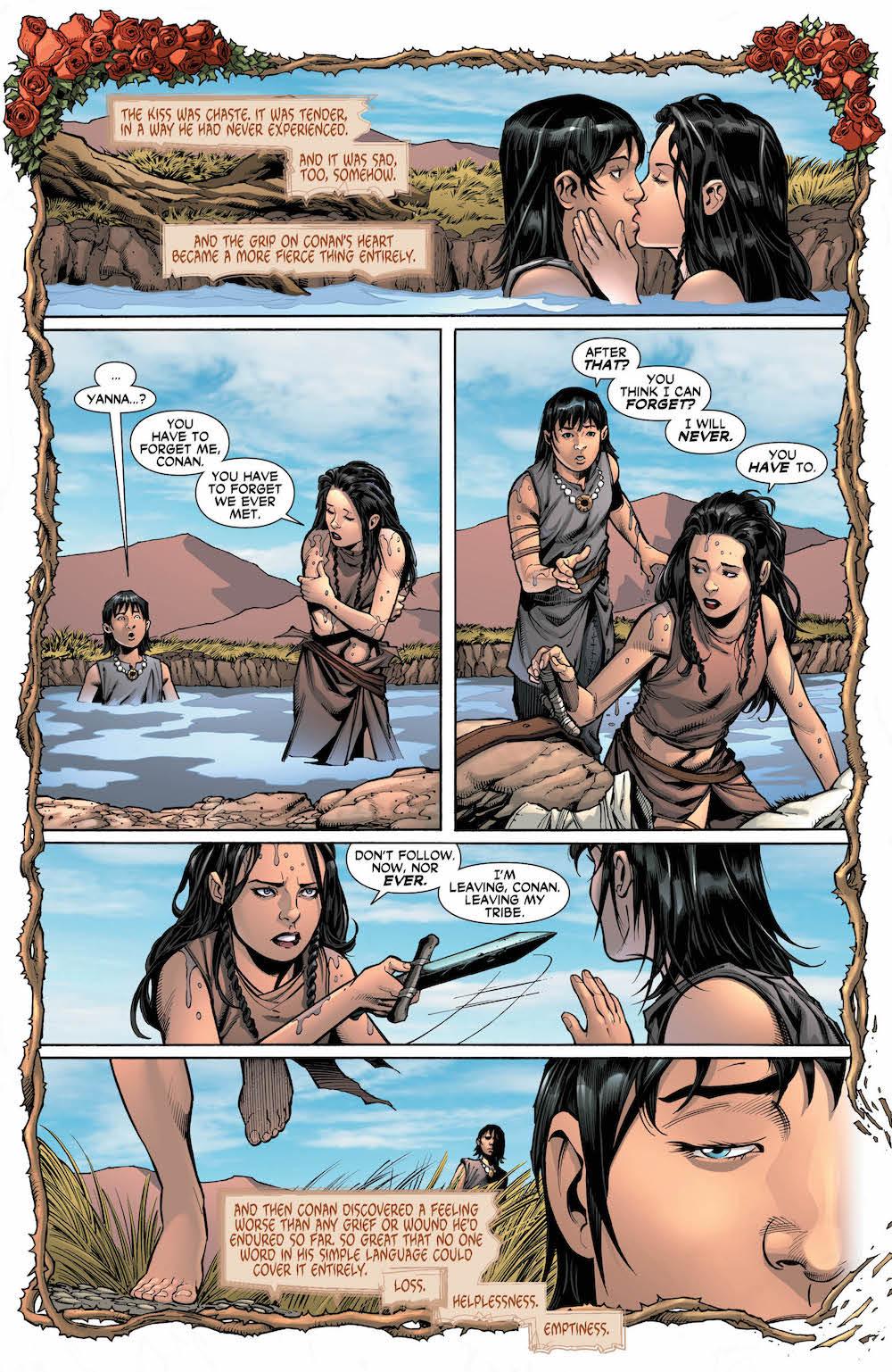 Wonder Woman/Conan #3 Diana and Conan