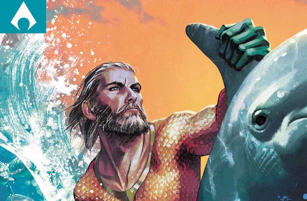 Aquaman #32 variant cover