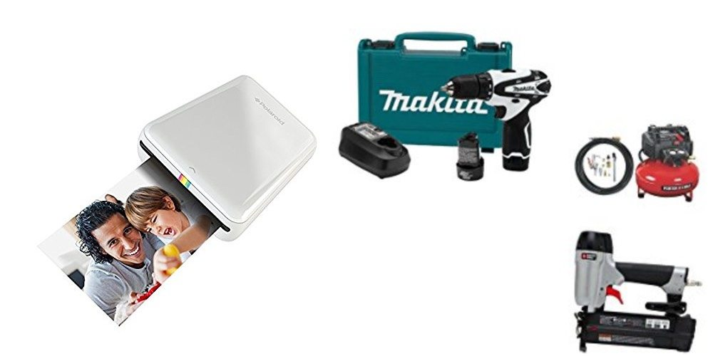 Geek Daily Deals Dec. 4, 2017: Polaroid ZIP Mobile Photo Printer for $78; Tools From Makita, Porter Cable, and More