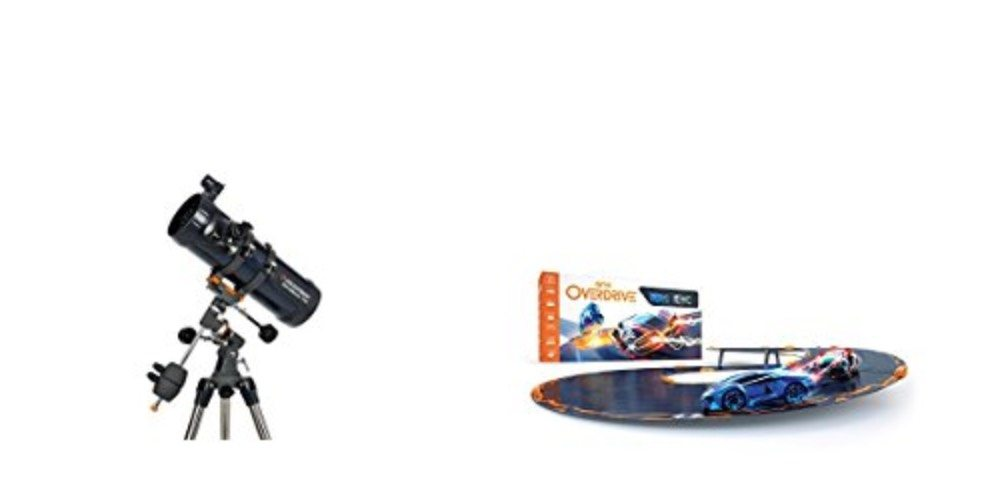 Geek Daily Deals 120817 telescopes anki overdrive