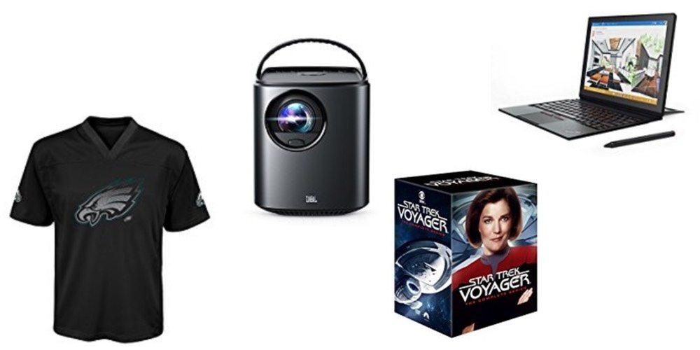 Geek Daily Deals Dec. 10, 2017: NFL Gear, Mars Home Theater, 'Star Trek' Box Sets, Lenovo Tablets