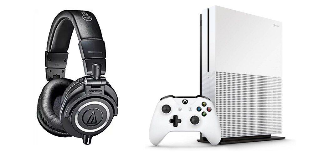 Geek Daily Deals 121717 audio technica headphones XBox One S refurbished
