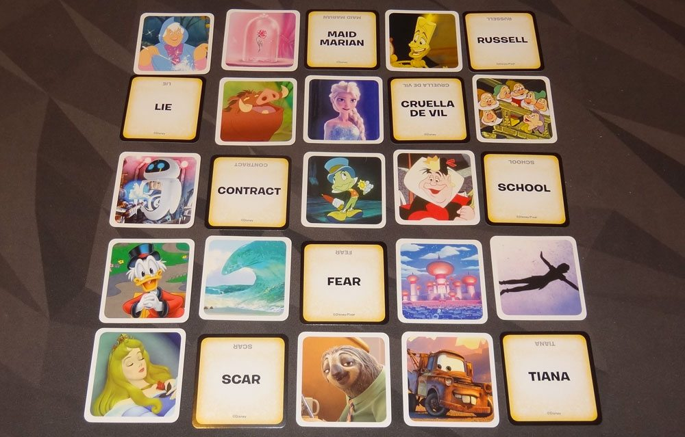 Codenames: Disney Family Edition advanced rules