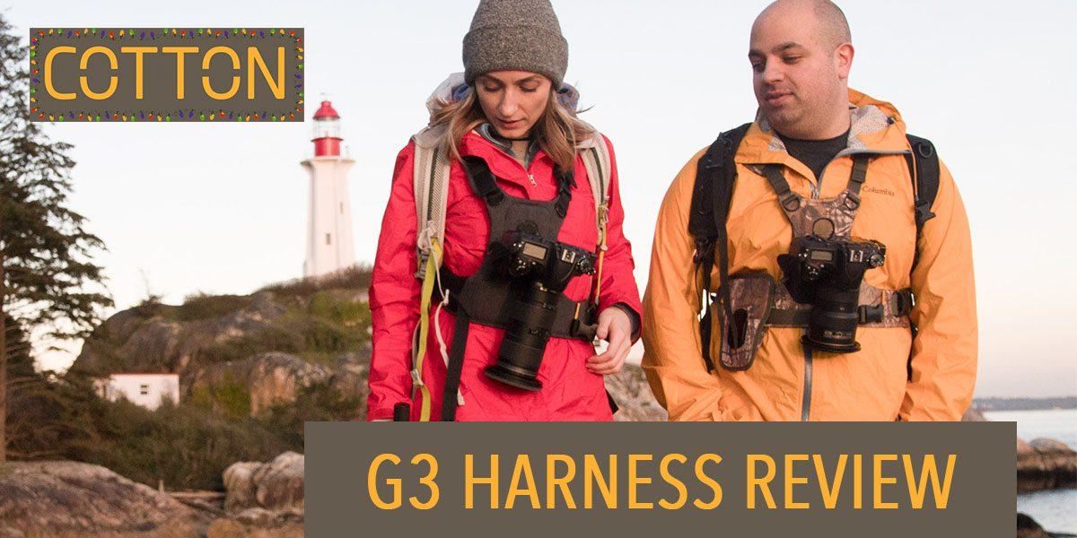 Cotton Camera Carrier G3 Harness Review