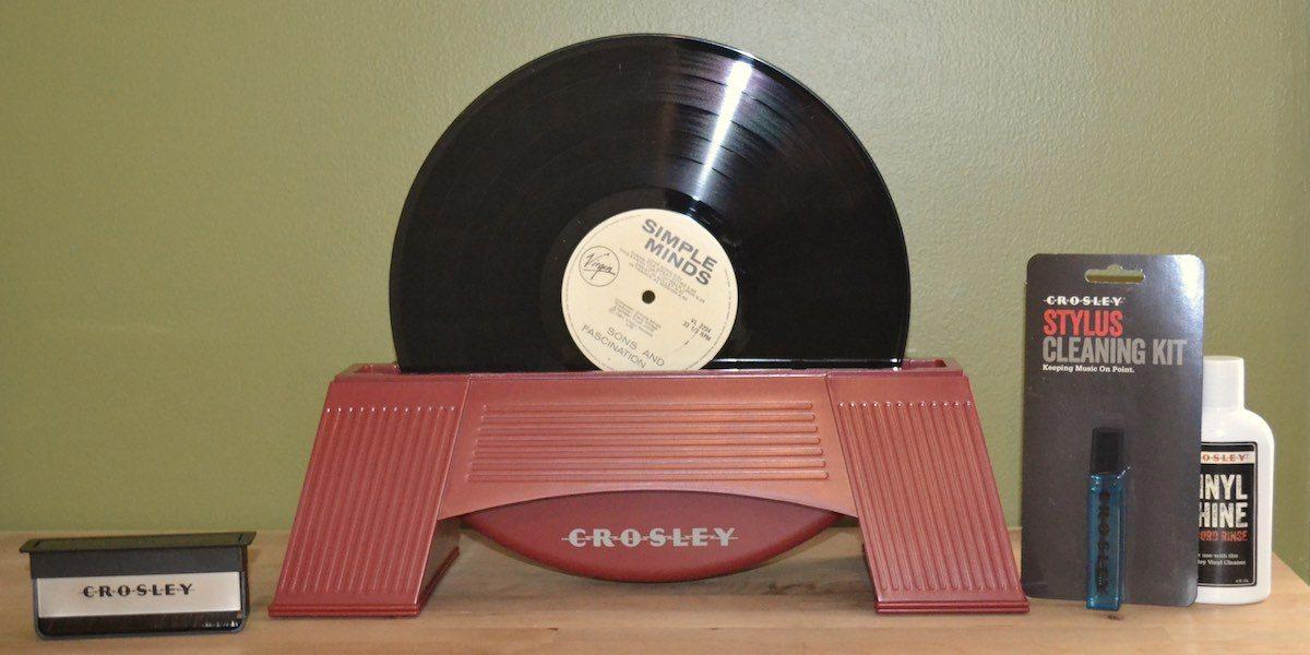 Crosley record care