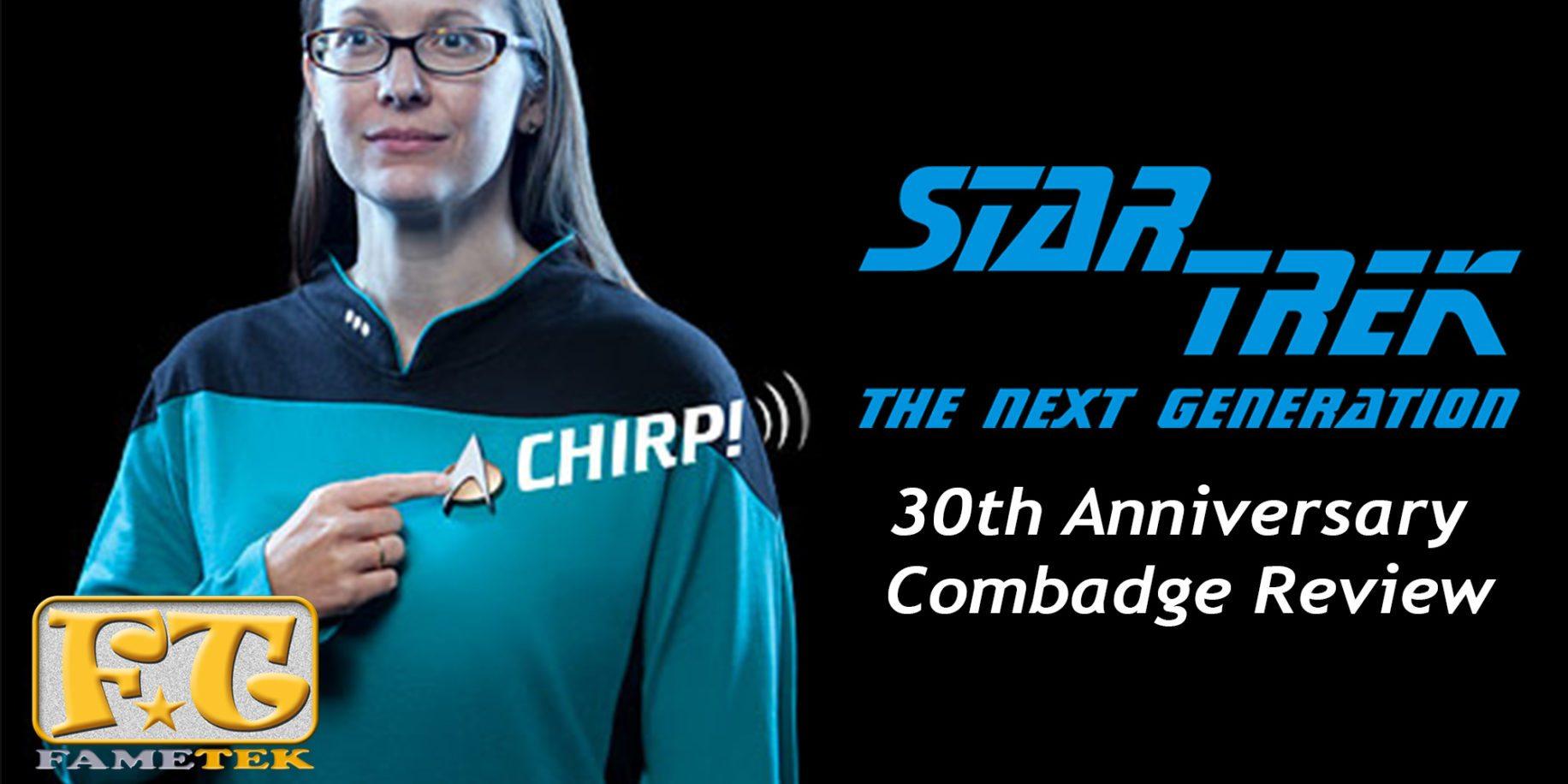 FAMETEK Star Trek TNG Bluetooth Communicator Badge with ...