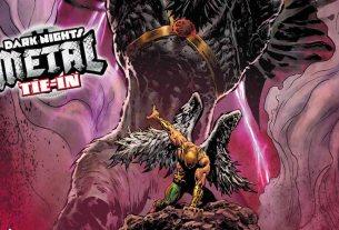 Hawkman Found #1 cover