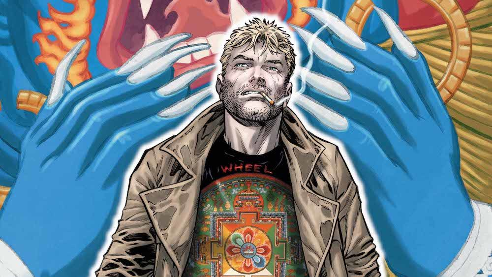The Hellblazer #17 cover