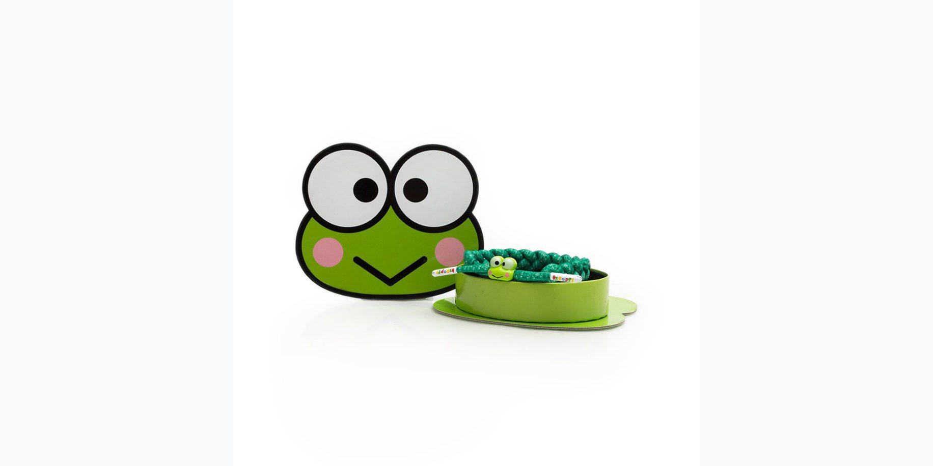 Keroppi Bracelet Image: Rastaclat