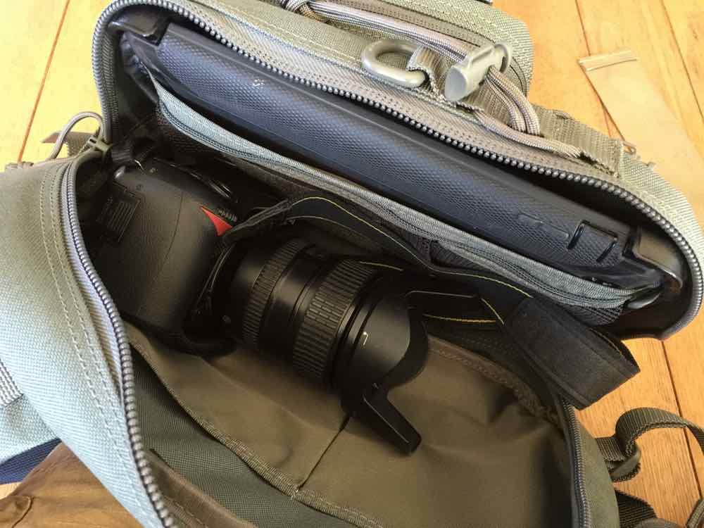 Noatak with camera and iPad