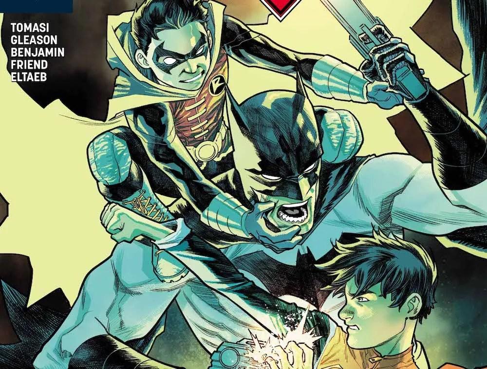 Damian & Jon versus Evil!Tim