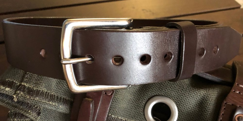 Old Bull Leather Belt