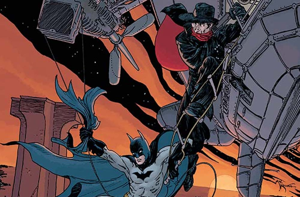 The Shadow/Batman IDW crossover