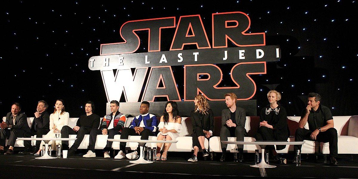 Cast Q&A from 'Star Wars: The Last Jedi' Press Junket