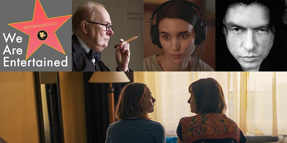 We Are Entertained: 'Lady Bird' (Plus a 'Darkest Hour' Giveaway!)