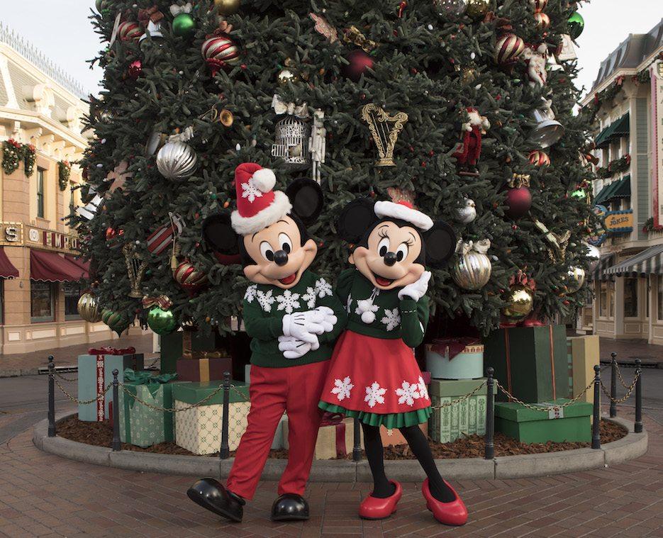 Disneyland holidays 2017