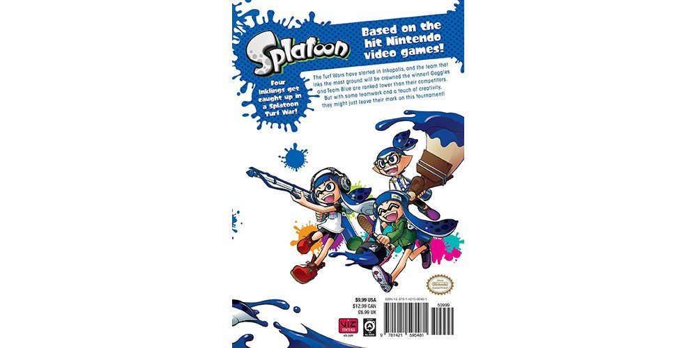 splatoon vol 1 back