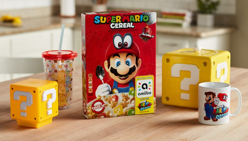 Super Mario Cereal – Part of a Complete Breakfast