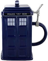 TARDIS 50 oz stein.