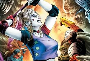 Suicide Squad #34 cover