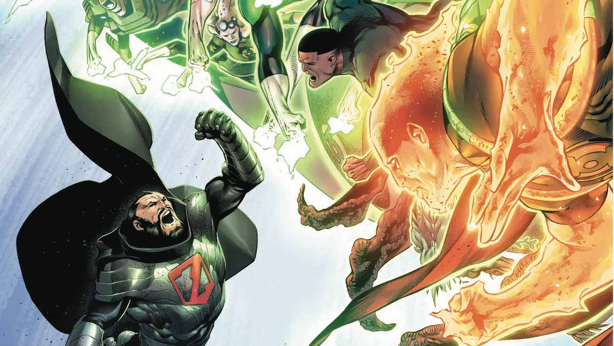 Hal Jordan and the Green Lantern Corps #39 cover