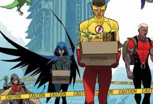 Teen Titans #17 cover