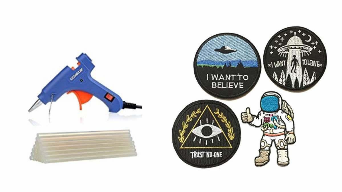 Geek Daily Deals 030118 glue gun space patches