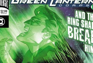Hal Jordan and the Green Lantern Corps #40 cover