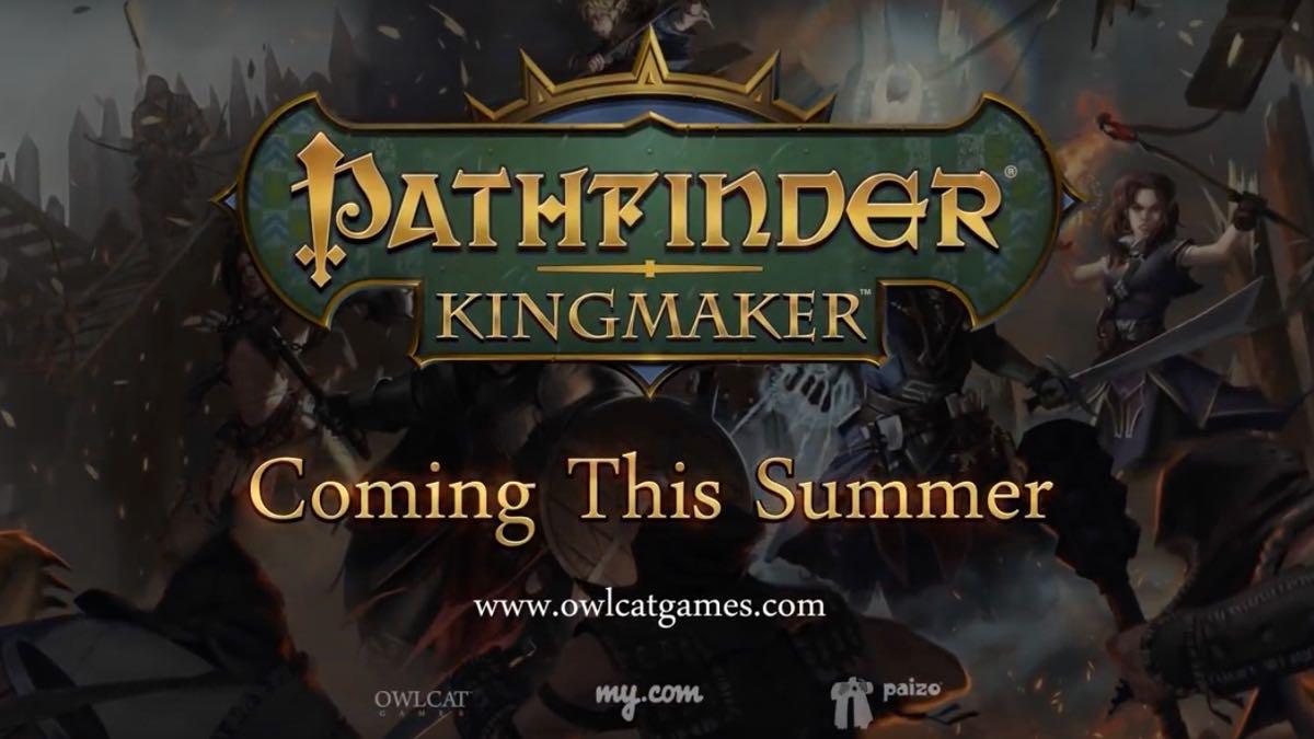 Pathfinder Kingmaker Logo
