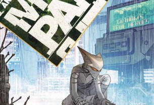Mother Panic Gotham A.D. #2 cover